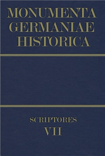 Monumenta Germaniae Historica Scriptores in Folio Band 7