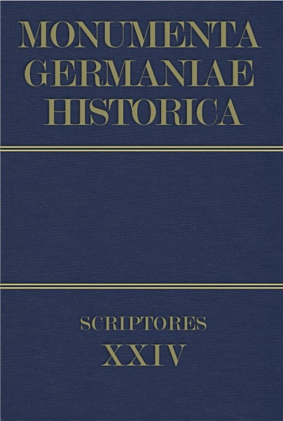 Monumenta Germaniae Historica Scriptores in Folio Band 24