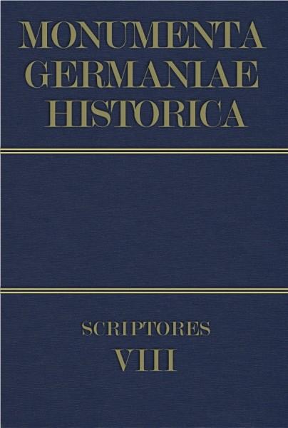 Monumenta Germaniae Historica Scriptores in Folio Band 8