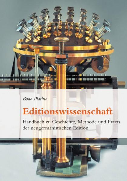 Plachta Editionswissenschaft