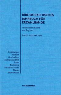 Bibliographisches Jahrbuch für Erzählbände