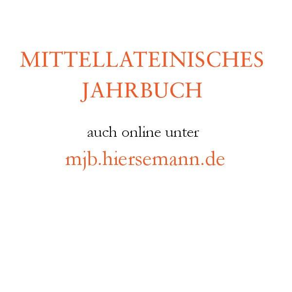 mittellateinisches-jahrbuch-online