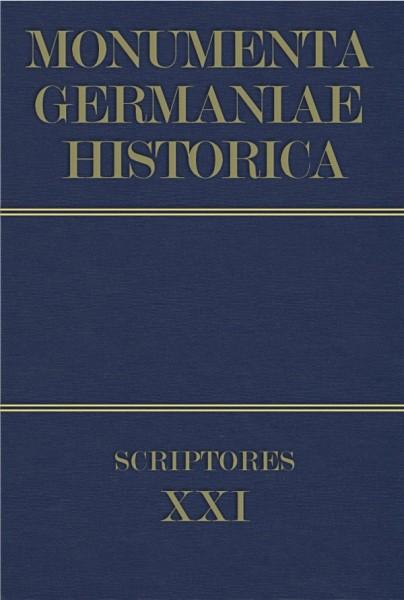 Monumenta Germaniae Historica Scriptores in Folio Band 21
