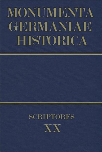 Monumenta Germaniae Historica Scriptores in Folio Band 20
