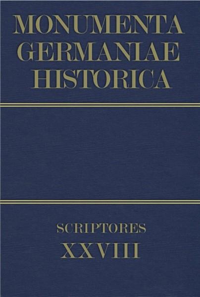 Monumenta Germaniae Historica Scriptores in Folio Band 28