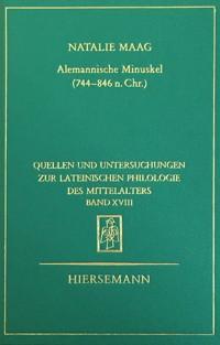 Alemannische Minuskel (744-846 n. Chr.)