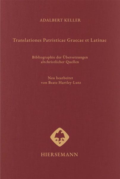 Translationes Patristicae Graecae et Latinae