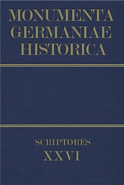 Monumenta Germaniae Historica Scriptores in Folio