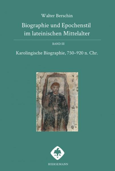 Berschin Biographie und Epochenstil im lateinischen Mittelalter