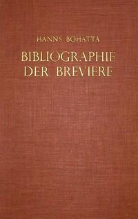 Bibliographie der Breviere 1501-1850