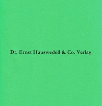 Die theologischen Handschriften der Staats- und Universitätsbibliothek Hamburg