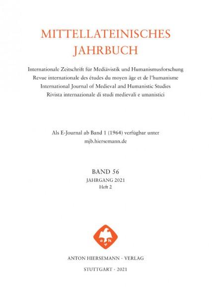 Mittellateinisches Jahrbuch