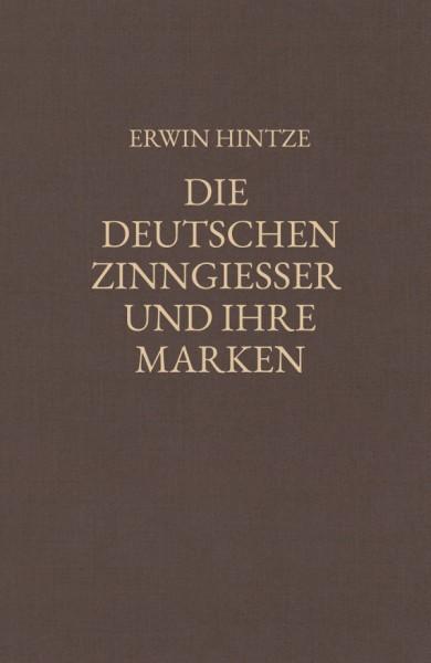 Hintze, Die deutschen Zinngiesser und ihre Marken, Gesamtwerk