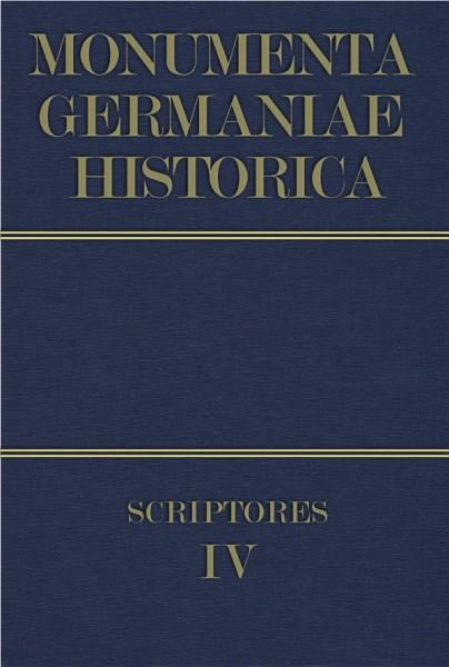 Monumenta Germaniae Historica Scriptores in Folio Band 4
