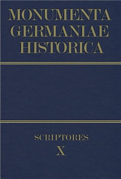 Monumenta Germaniae Historica Scriptores in Folio Band 10