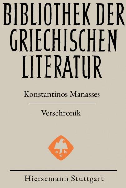 Verschronik Konstantinos Manasses BGL 87