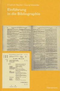 Einführung in die Bibliographie