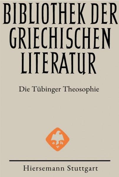 Die Tübinger Theosophie | Laura Carrara, Irmgard Männlein-Robert