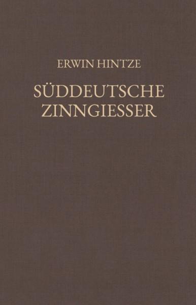 Hintze, Süddeutsche Zinngiesser Teil 1