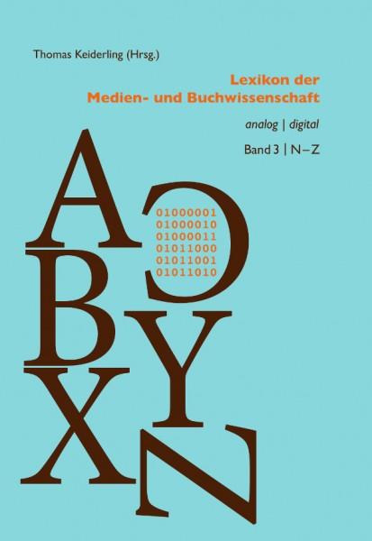 Thomas Keiderling, Lexikon Medien Buchwissenschaft
