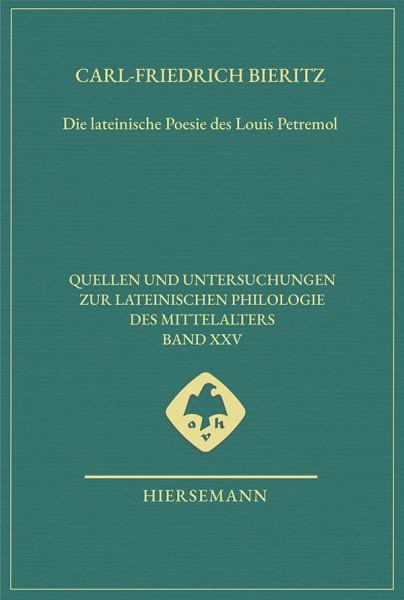 lateinische Poesie Louis Petremol