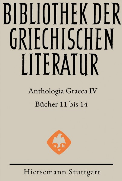 Anthologia Graeca, Band IV: Bücher 11 bis 14
