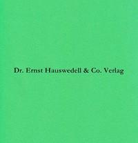 Die historischen Handschriften der Staats- und Universitätsbibliothek Hamburg