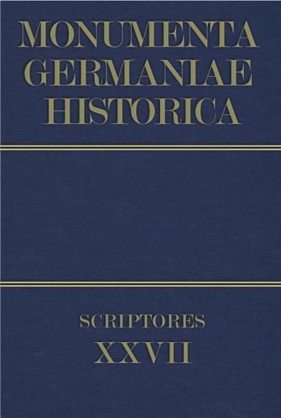 Monumenta Germaniae Historica Scriptores in Folio Band 27