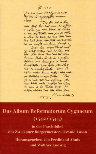 Das Album Reformatorum Cygnaeum (1542/1543)